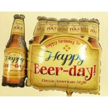 Happy Beer-Day Six Pack Super Shape Fólia Lufi